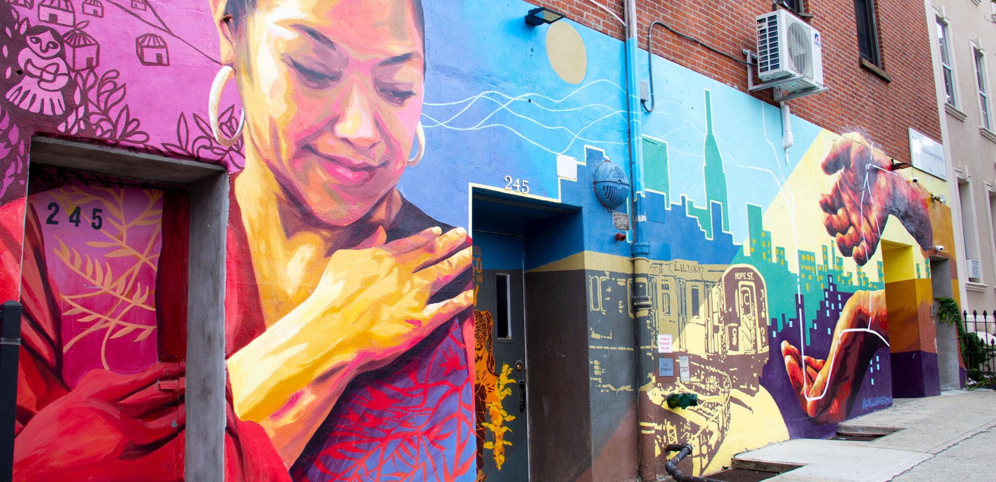 305 Twenty Third Brooklyn - Neighborhood Photography - Mural