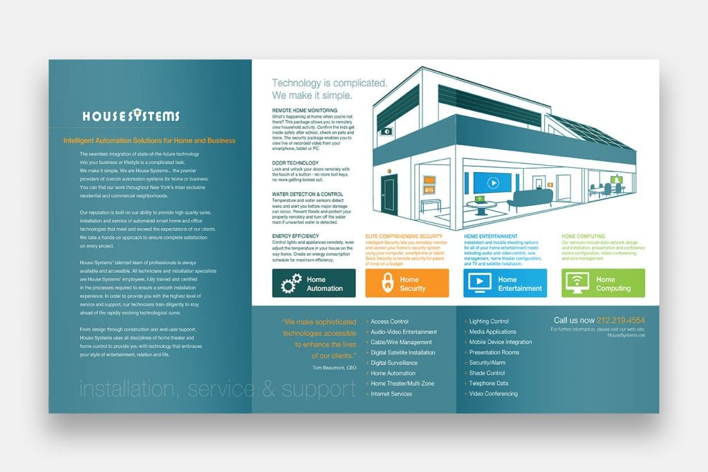House Systems Websites Brand Development Marketing